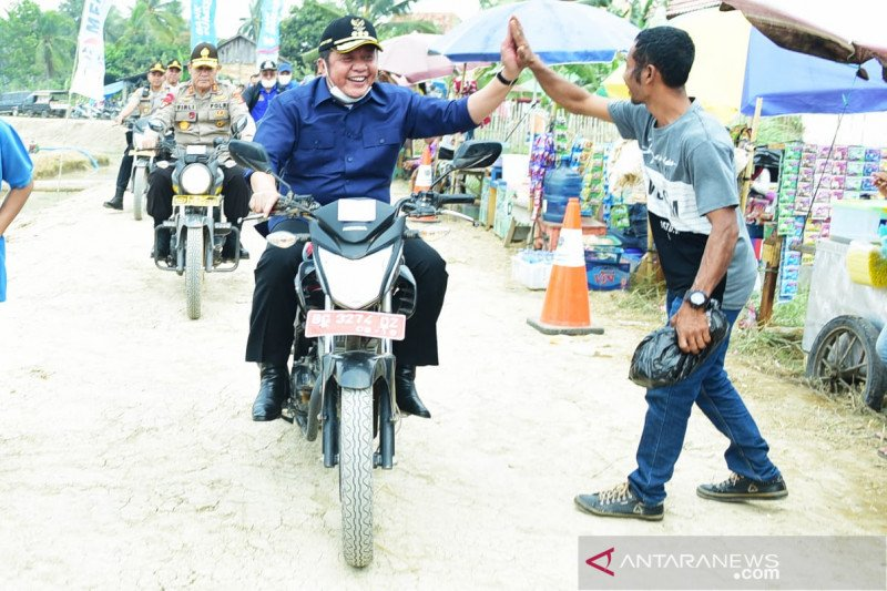 Gubernur Sumsel upayakan pembangunan  merata hingga desa