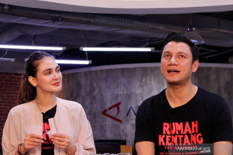 Luna Maya bersama Christian Sugiono reuni di film horor
