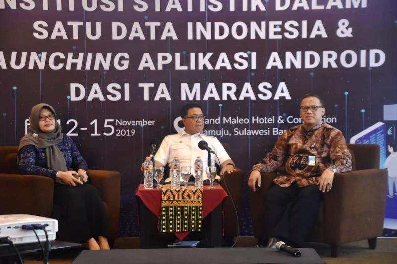 Pemprov Sulbar-BPS berkomitmen wujudkan satu data Indonesia