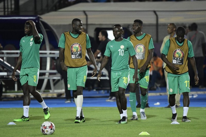 Tanpa Mane, Senegal menang 2-0 atas Kongo