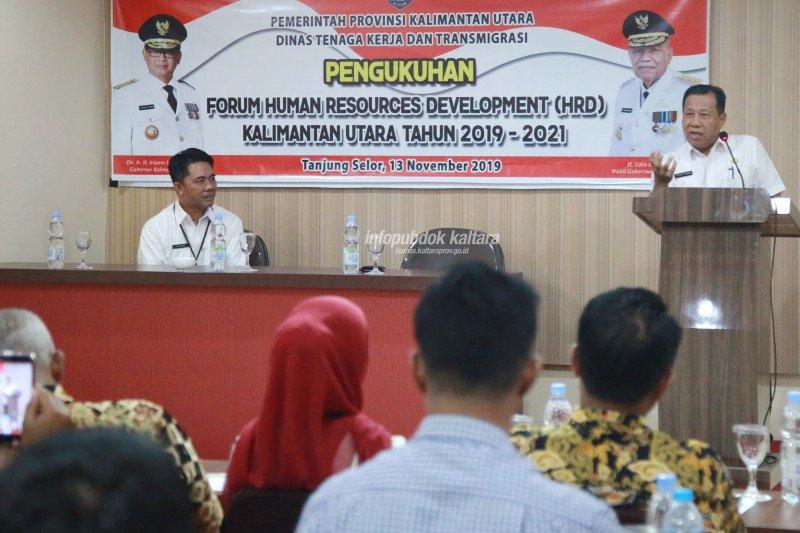 Forum HRD Kaltara Resmi Dikukuhkan