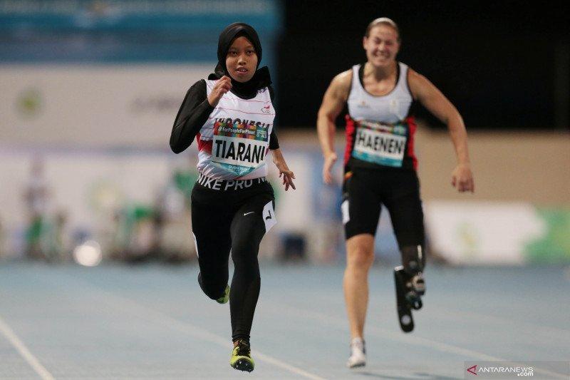 Pelari Indonesia Karisma Tiarani cetak rekor dunia di Dubai