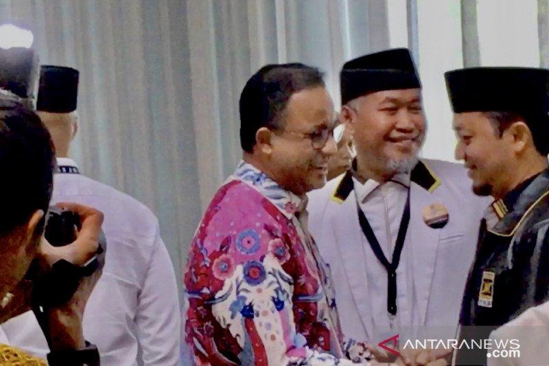 Gubernur Anies hadiri Rakornas PKS