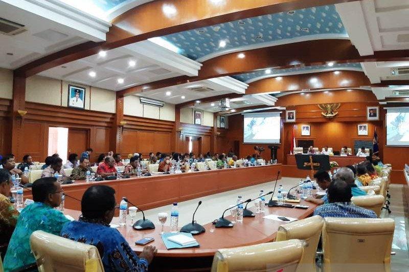 Pemprov Papua bersama KPK segera bentuk tim data potensi baru PAD