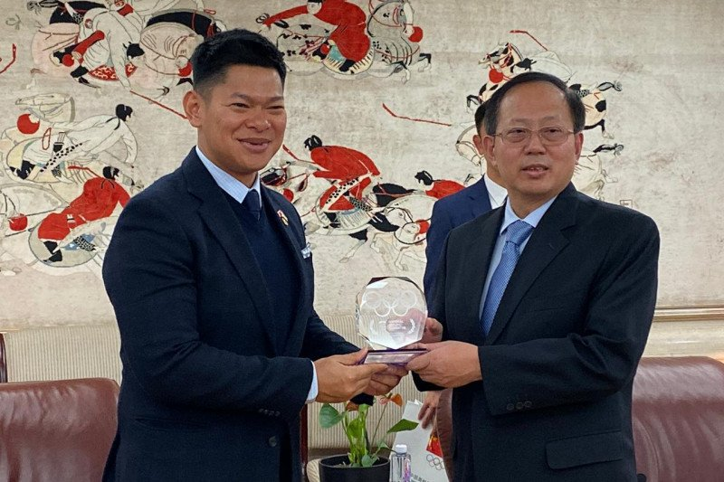 Indonesia  galang dukungan jadi tuan rumah Olimpiade 2032 ke China