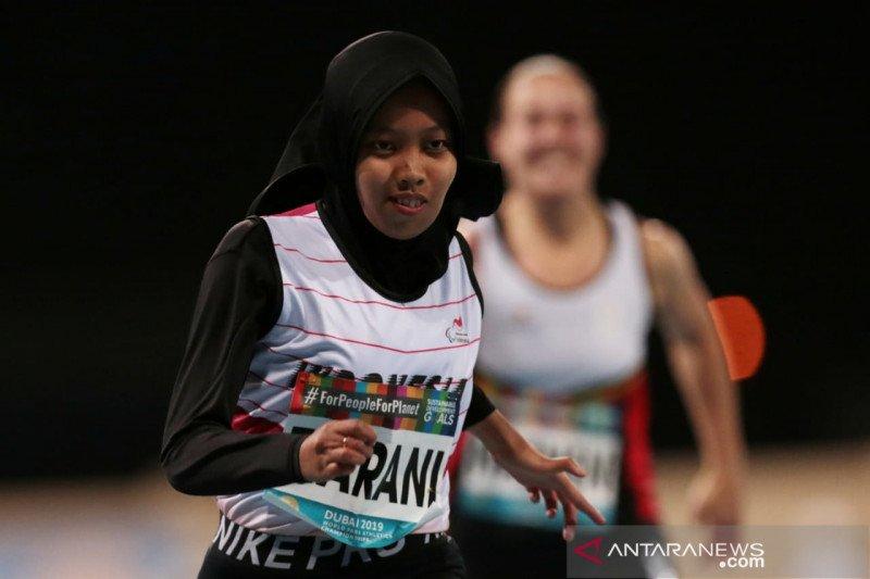 Karisma Evi Tiarani pecahkan rekor dunia nomor 100m para atletik