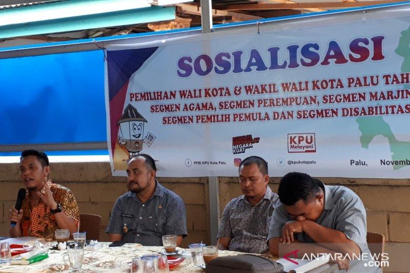 KPU imbau warga tidak mudah terprovokasi jelang Pilkada Kota Palu