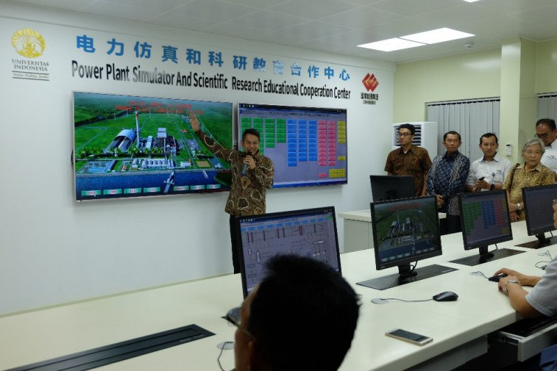 Fakultas Teknik UI miliki simulator pembangkit listrik tenaga uap