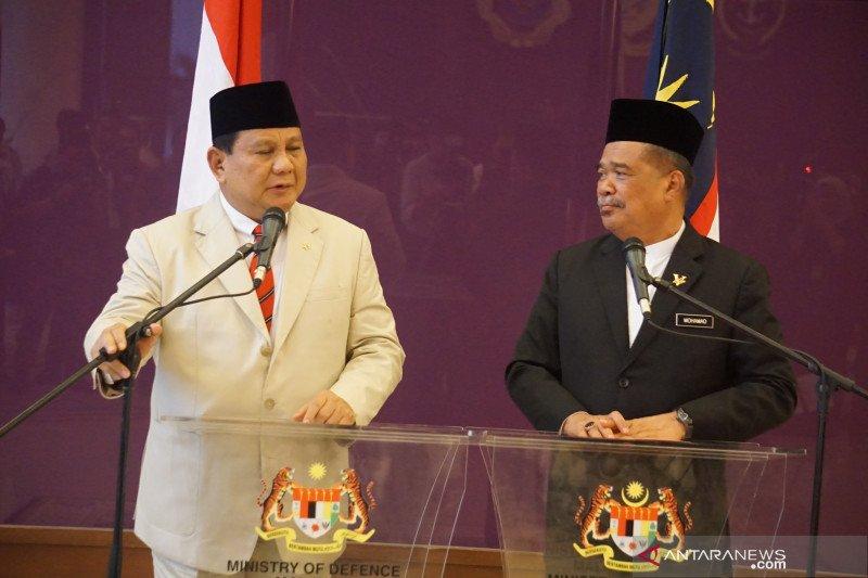 Menhan Prabowo Subianto kunjungi Malaysia