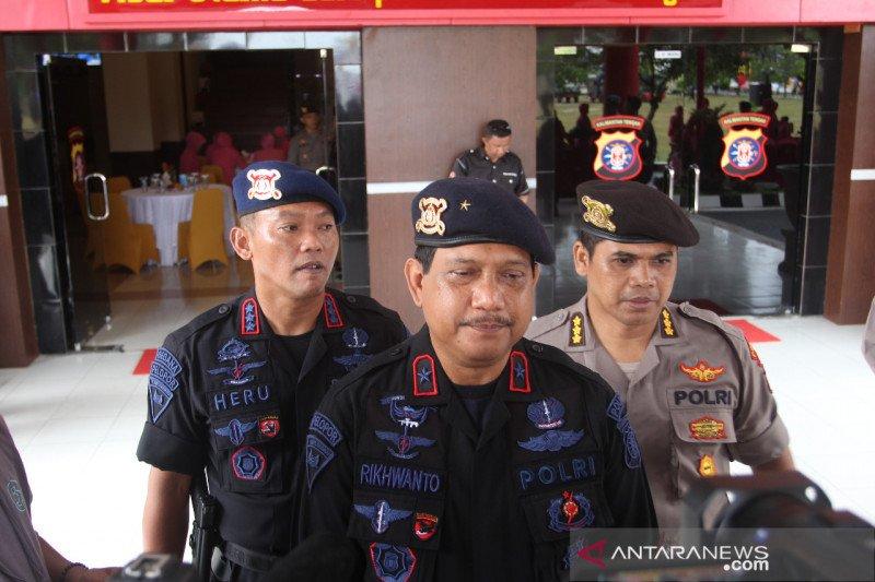 Personel Brimob Kalteng diminta tingkatkan keterampilan dalam bertugas