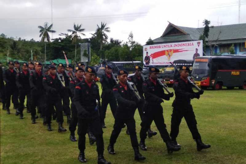 Kapolri: Personel Brimob dihadapkan pada serangkaian tugas berat