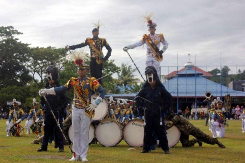 Kirab Taruna AAL di Sorong Papua Barat