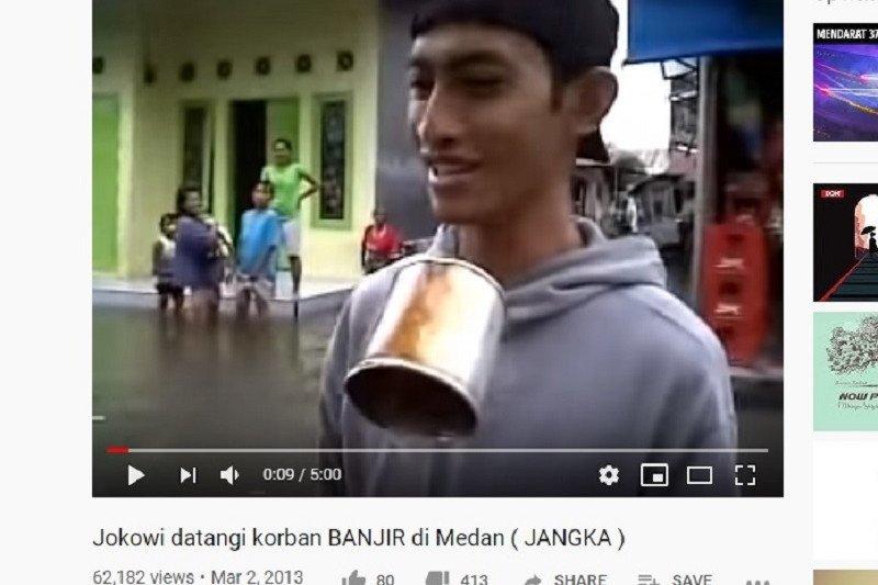 Pelaku bom bunuh diri di Polrestabes Medan bikin parodi liputan banjir di YouTube