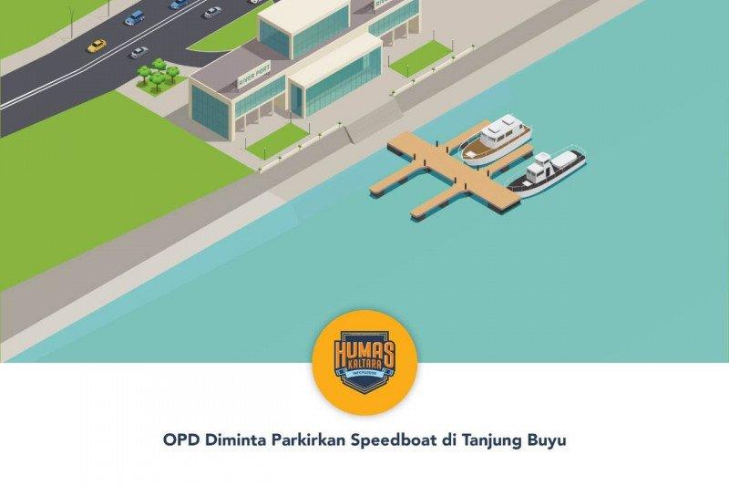 OPD Diminta Parkirkan Speedboat di Tanjung Buyu