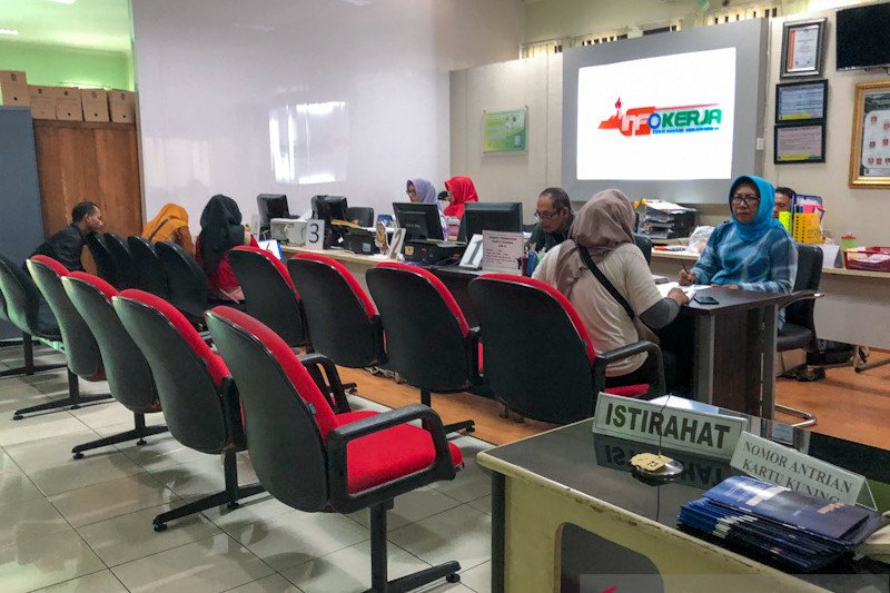 Permintaan kartu pencari kerja di Yogyakarta naik drastis pada masa pendaftaran CPNS