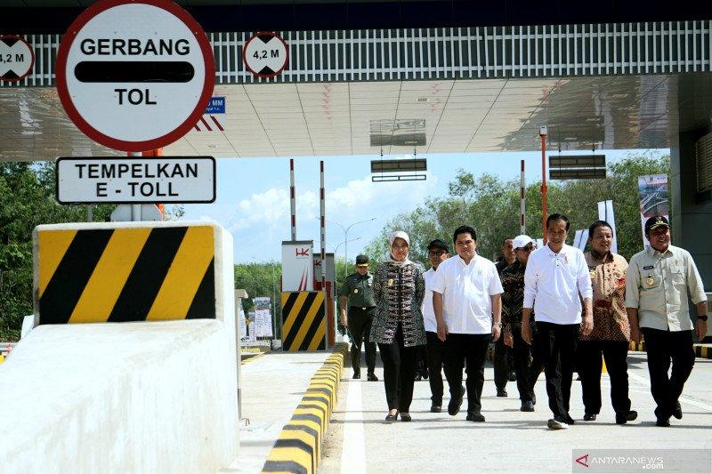 Almisbat apresiasi Presiden Jokowi resmikan JTTS ruas Terpeka
