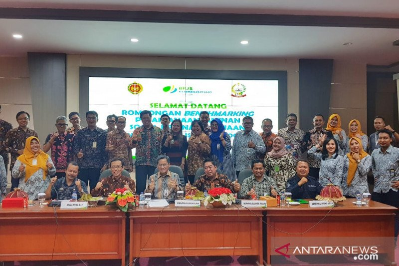 Pemda DIY-BPJS Ketenagakerjaan Cabang Yogyakarta sambangi Sulsel