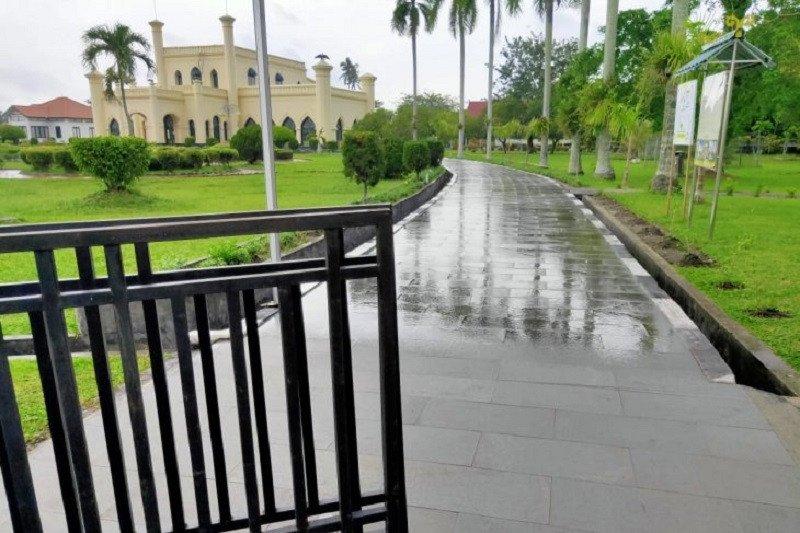 Istana Siak dibuka lagi setelah sempat ditutup pada Kamis (14/11)