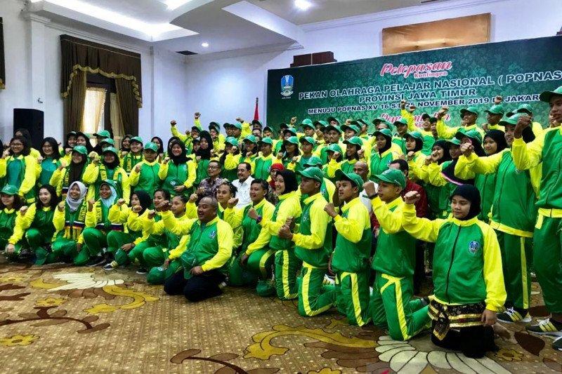 Kontingen Jatim targetkan raih juara umum Popnas 2019