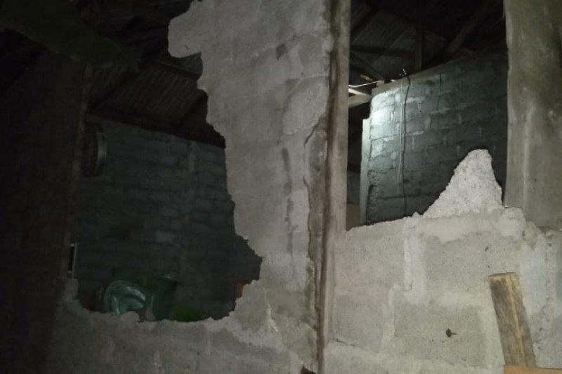 Gempa Maluku Utara, tiga gereja dan 15 rumah rusak