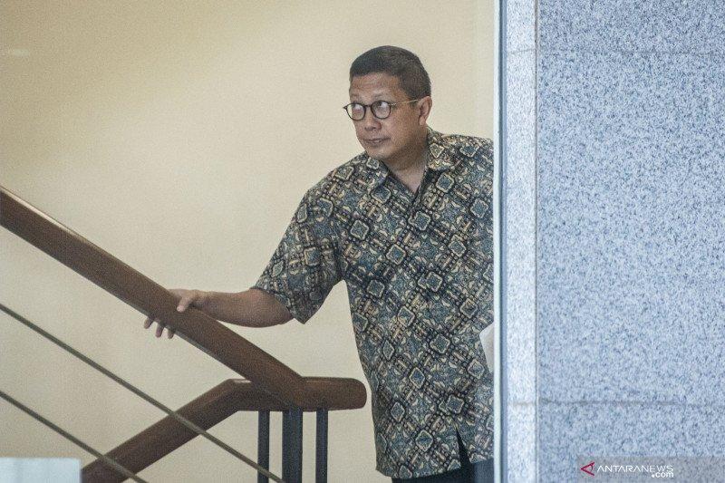 Mantan Menag Lukman Hakim Saifuddin diperiksa KPK