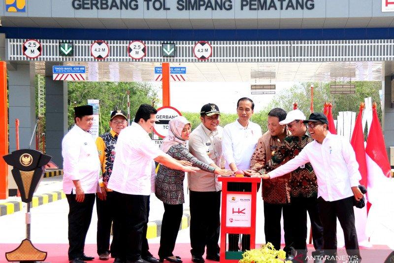 Presiden: Lampung-Palembang segera tersambung dengan jalan tol