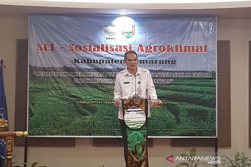 Bantu tingkatkan produktivitas pertanian, BMKG sosialisasikan Informasi iklim