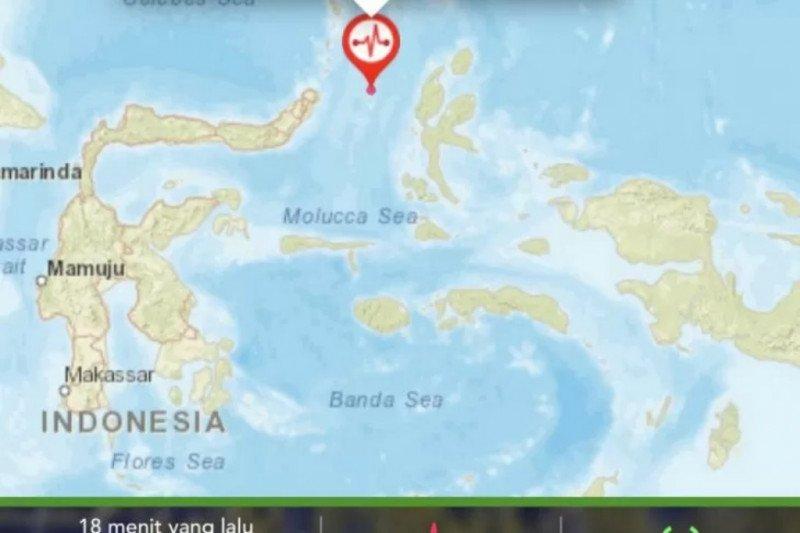 Halmahera Barat diguncang gempa Magnitudo 5,5