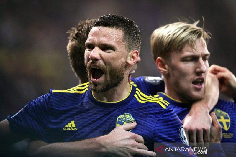 Kualifikasi Piala Eropa — Swedia pupuskan impian Norwegia melaju ke putaran final Piala Eropa