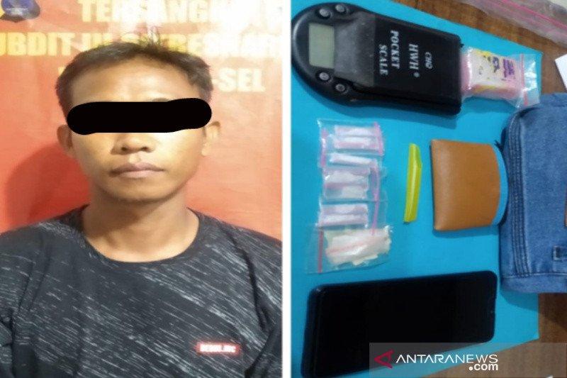 Polisi tetapkan pemilik delapan paket sabu-sabu sebagai tersangka