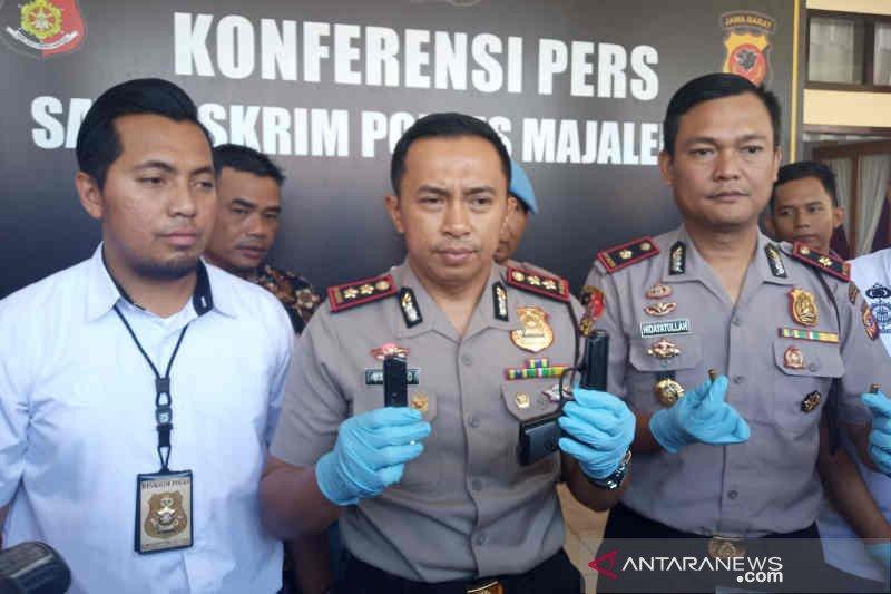Polisi resmi tahan anak Bupati Majalengka