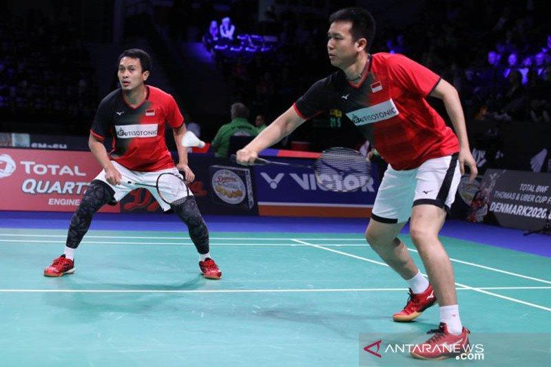 Hendra/Ahsan gagal juara Hong Kong Open, kalah dari Choi/Seo