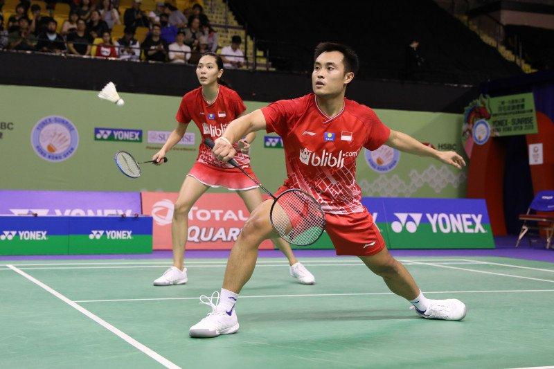 Hafiz/Gloria tantang unggulan keempat Jepang Yuta Watanabe/Arisa Higashino