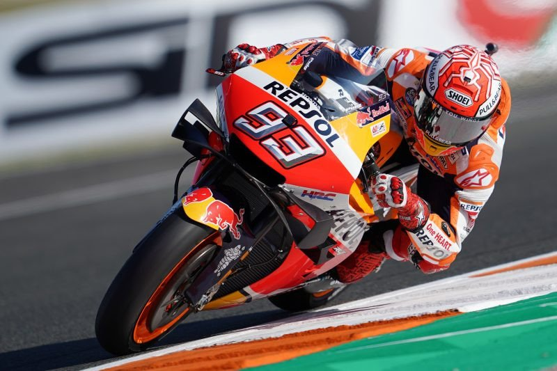 Tugas terakhir dari Honda untuk Marquez