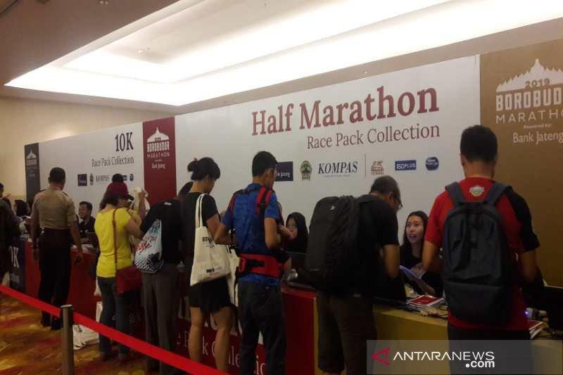 Pelari dari 16 negara ikuti Borobudur Marathon