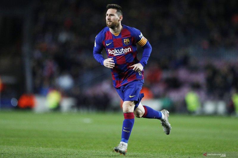 Messi bicarakan kontrak baru dengan Barcelona