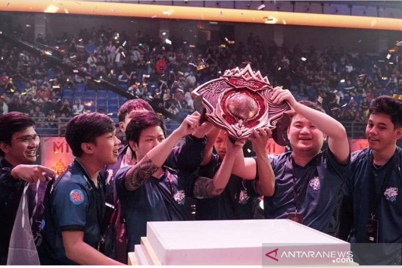 Indonesia juara dunia Mobile Legends M1 World Championship di Malaysia