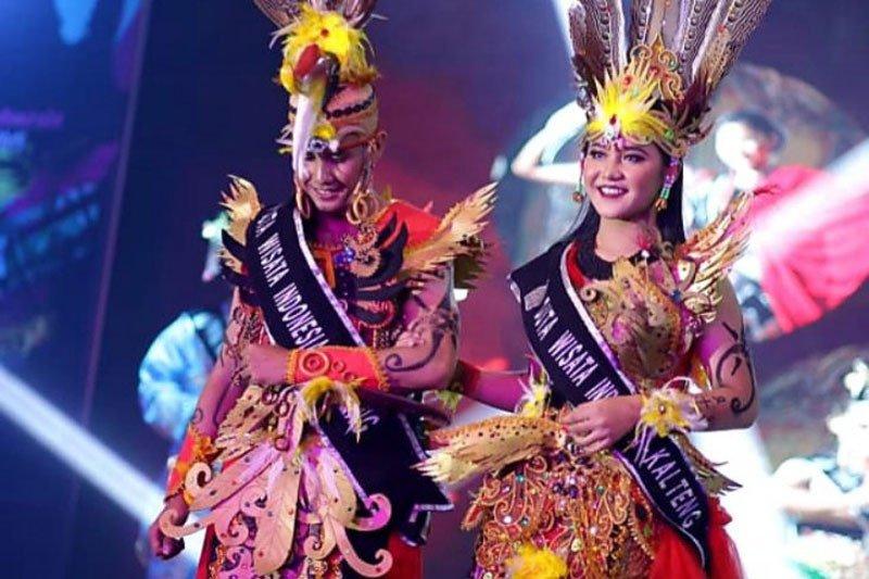 Tony-Yosia, wakil Kalteng terpilih sebagai Duta Wisata Indonesia 2019