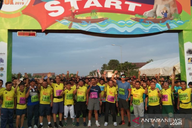 4.200 pelari meriahkan lari jarak jauh  Arutmin 10K 2019