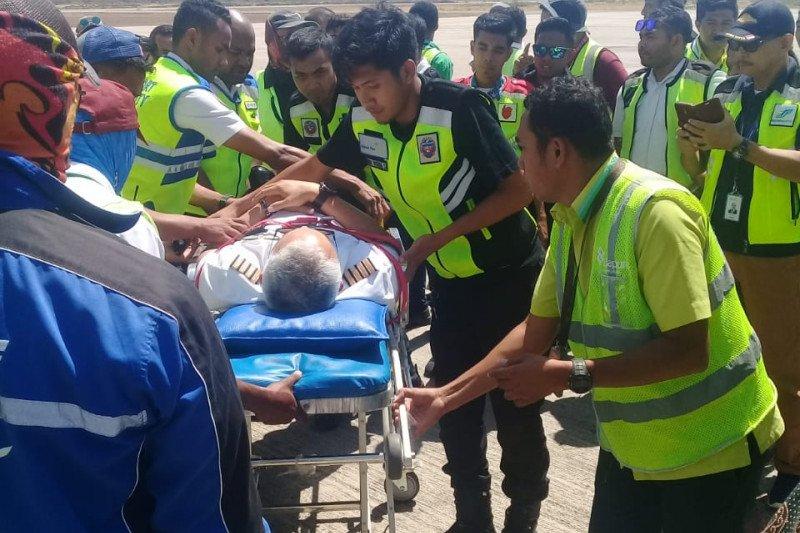Setelah 30 menit bergoyang-goyang, pesawat Batik Air mendarat darurat