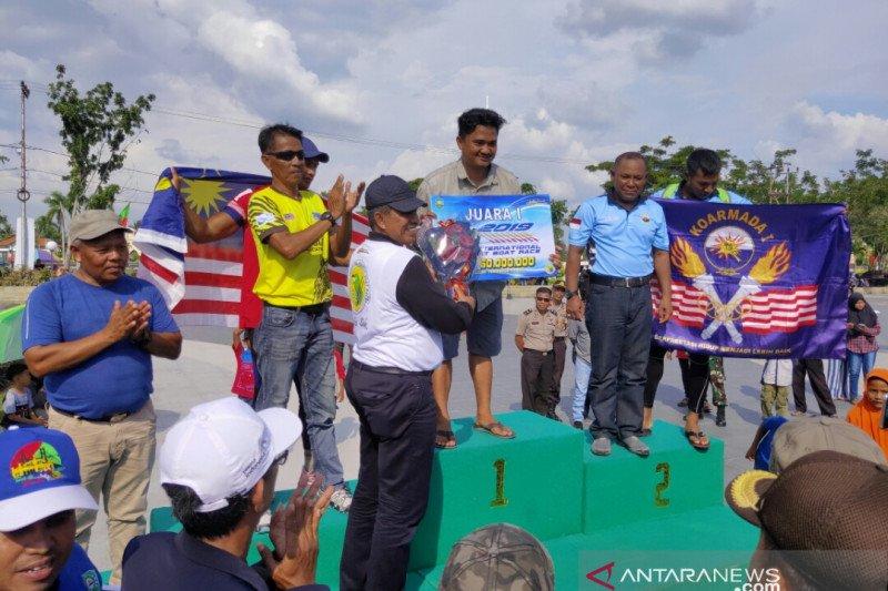 Podsi Kota Bekasi juarai Siak International Serindit Boat Race