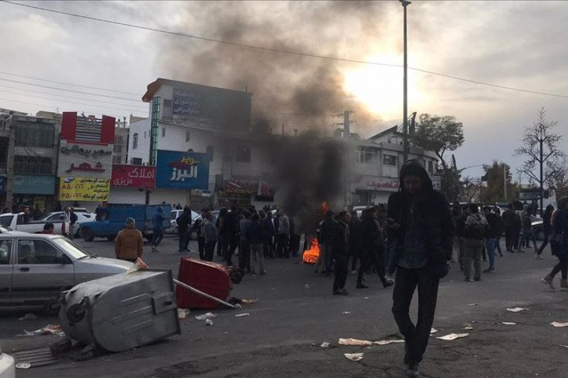Amnesti Internasional sebut kerusuhan Iran tewaskan 100 orang lebih