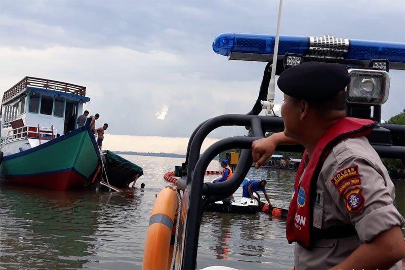 Perahu wisata ditumpangi wisman asal Kolombia tenggelam di Kalteng
