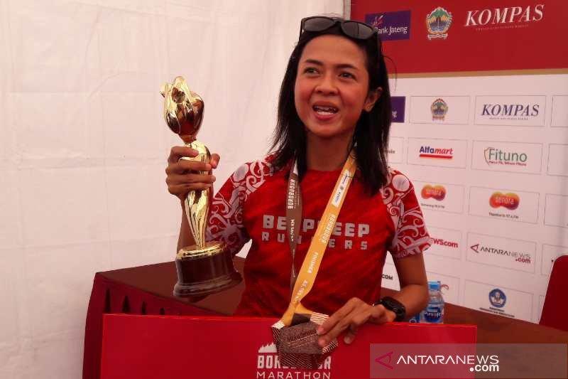 Para pelari Kenya dominasi juara Borobudur Marathon 2019