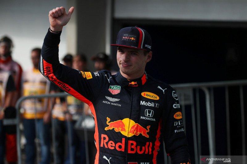 Verstappen raih pole position pada GP Brazil