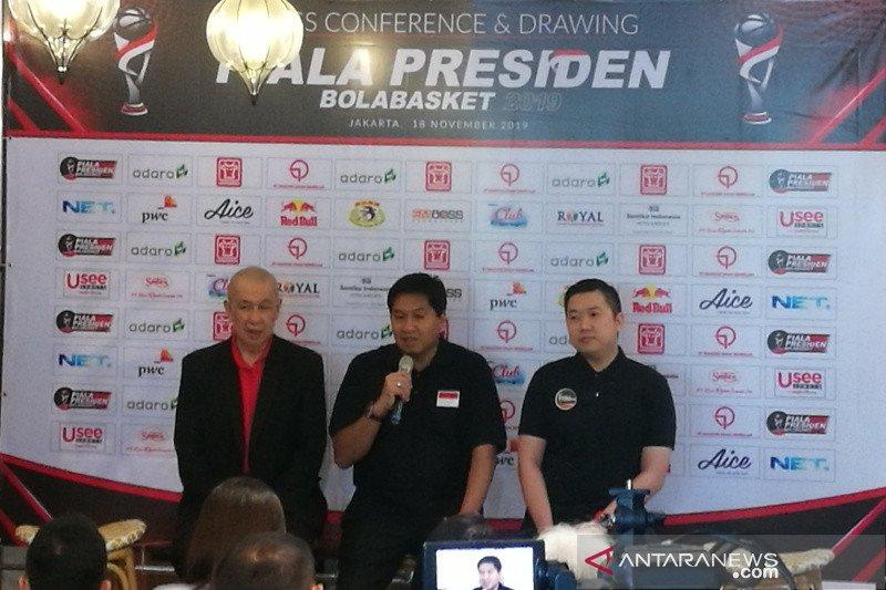 Piala Presiden Bola Basket iming-imingi  hadiah total Rp375 juta