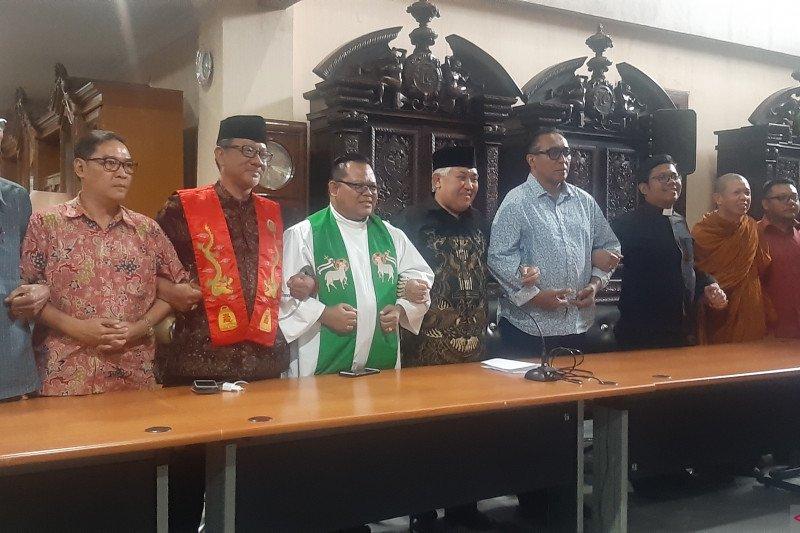 Tokoh lintas agama ajak masyarakat syukuri kemajemukan dalam harmoni
