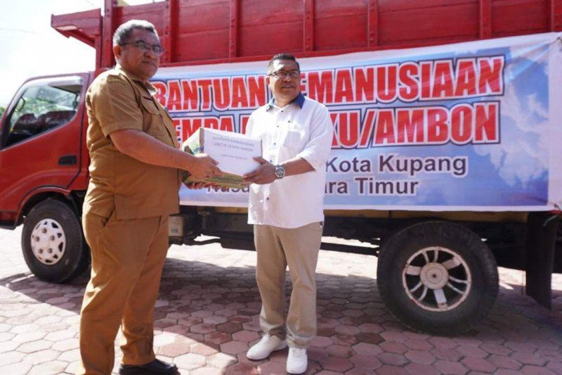 Pemkot Kupang bantu korban gempa Ambon