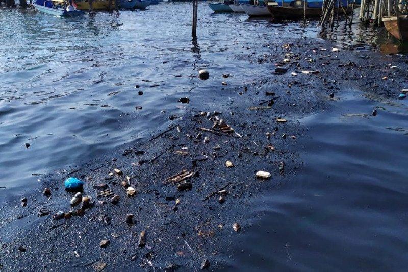 Mulai berkurang pencemaran minyak di Pulau Belakangpadang Batam