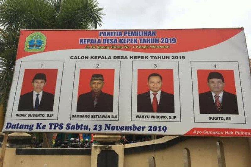 Empat desa Pilkades 2019 di Gunung Kidul berpotensi terjadi konflik